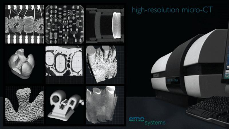 Dienstleistung zur Micro-CT mithilfe von CT-Scanner